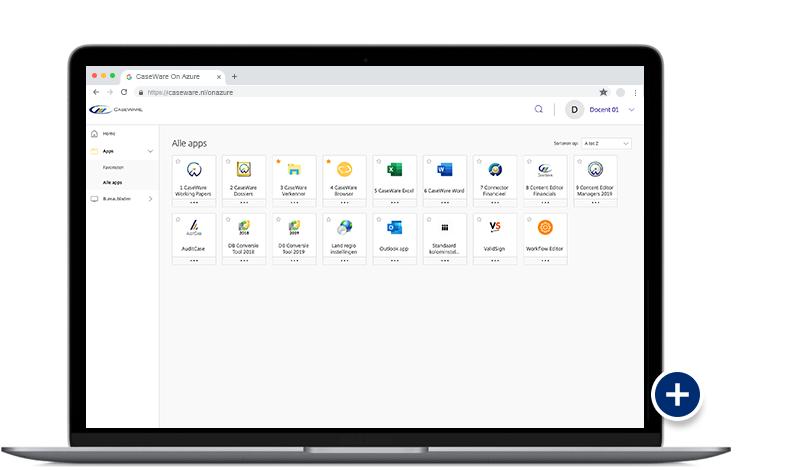 CaseWare On Azure - Optimaal gebruiksgemak