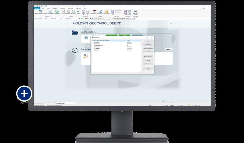 CaseWare Business - consolideren screenshot