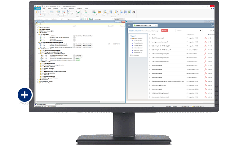 CaseWare Business - Working Papers en CaseWare Cloud screenshot