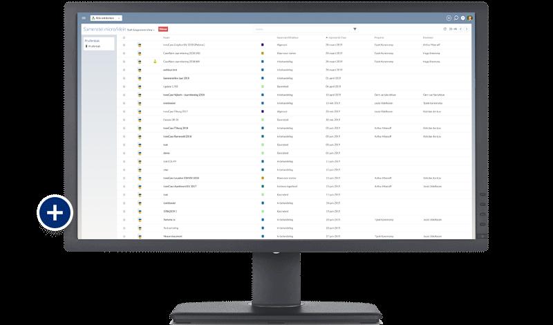 CaseWare Nederland - Realtime inzicht en overzicht screenshot