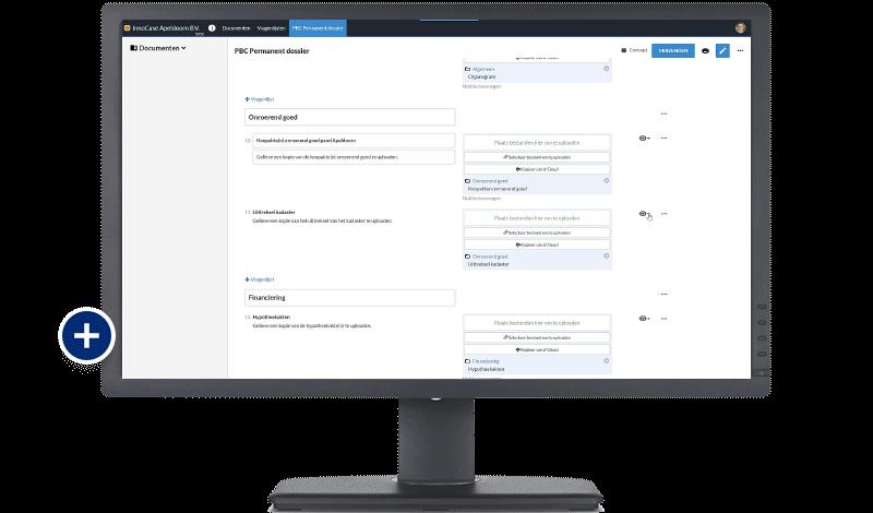 Screenshot PBC+  - optimaliseer de samenwerking met uw klant